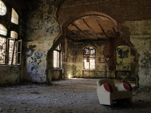 Beelitz-Heilstätten (Beelitz Sanatorium) once treated Adolf Hitler.