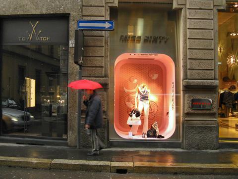 Via Montenapoleone, Milán, Italia