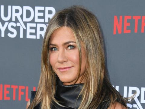 """Most recently, Aniston starred in the 2019 Netflix film """"Murder Mystery."""""""