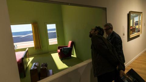 En el Museo de Bellas Artes de Virginia es posible dormir en una recreación del cuadro de Edward Hopper.
