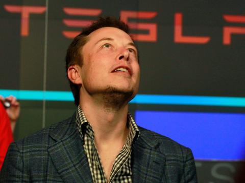 Musk, CEO de Tesla