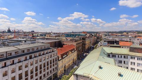 Na Příkopě street, Praga, República Checa