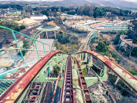 Nara Dreamland was inspired by Disneyland but went abandoned for around 10 years.
