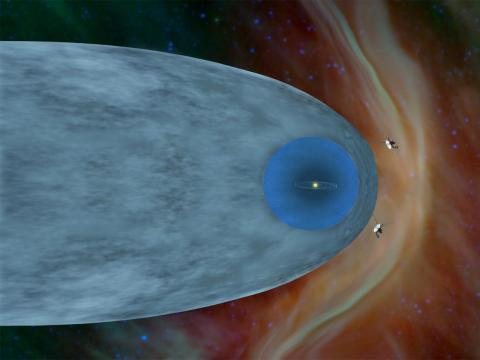 NASA's Voyager 2 spacecraft left our solar system and entered the depths of interstellar space.