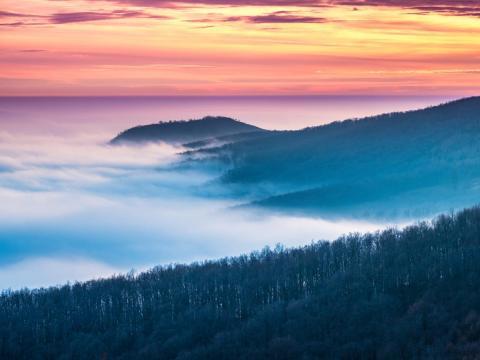 National Blue Trail, Hungary