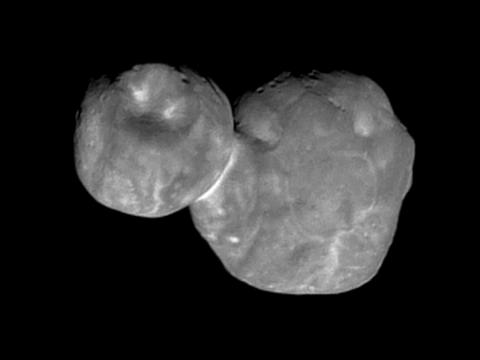 On New Year's Day, NASA's nuclear-powered New Horizons spacecraft flew past a mysterious, mountain-sized object 4 billion miles from Earth.