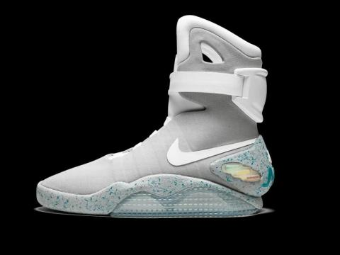 The Nike Mags were the most popular shoes of 2011.