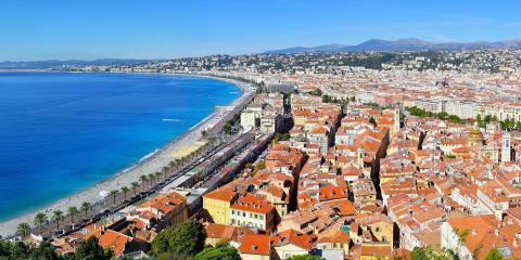 Niza, Francia.