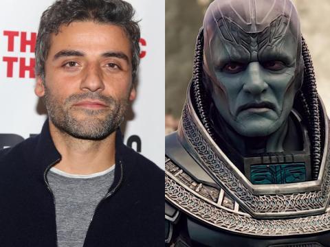 "Oscar Isaac en ""X-Men: Apocalypse."""