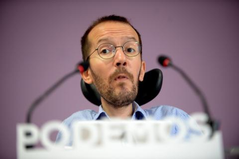 Pablo Echenique, Podemos.