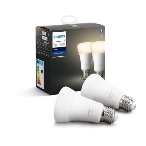 Pack de 2 bombillas LED inteligentes