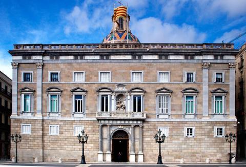Palacio de la Generalitat de Cataluña.