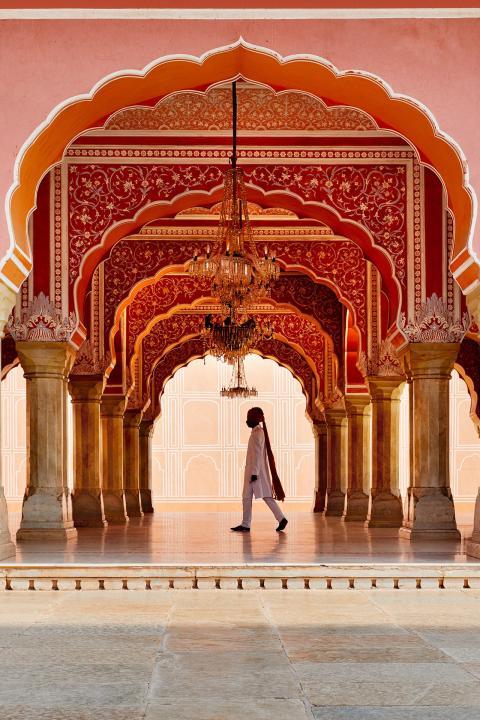 Palacio de Jaipur.