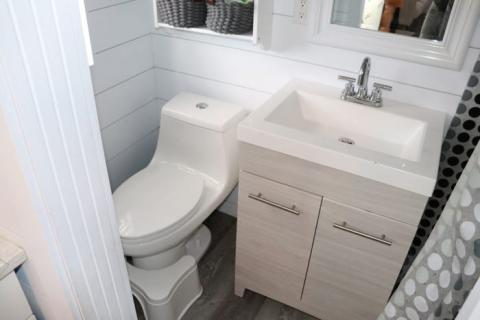 El baño de la casa