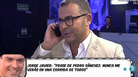 Pedro Sánchez llama en directo en Sálvame.