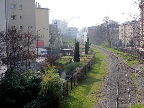 Paris' abandoned railroad.