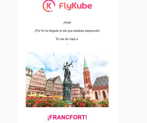 plataforma de viaje Flykube
