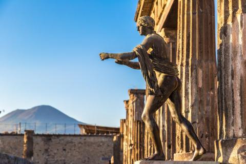 Pompeii today.