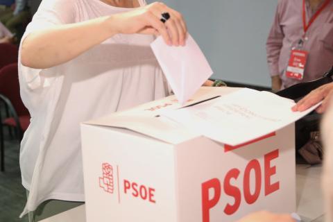 Primarias del PSOE en 2017.