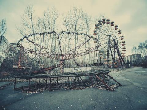 Pripyat was evacuated during the Chernobyl nuclear disaster in 1986.