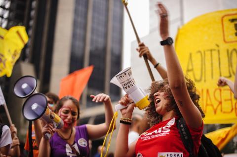 Protestas de jóvenes