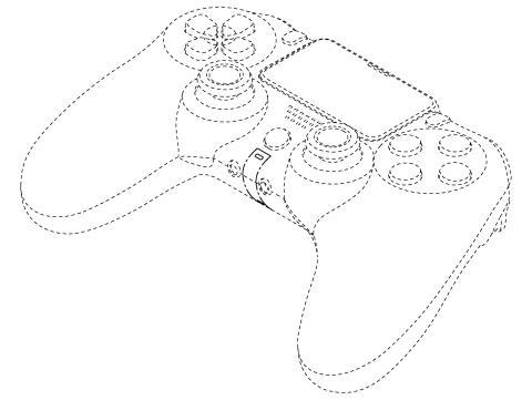 Prototipo del mando de PlayStation 4