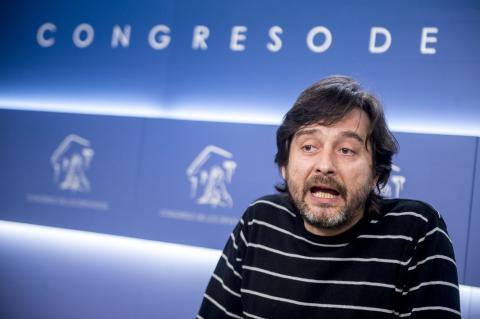 Rafael Mayoral, de Podemos.