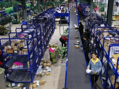 Reports have suggested that the Chinese economy is slowing — perhaps incentivizing shoppers to take advantage of the day of deals.