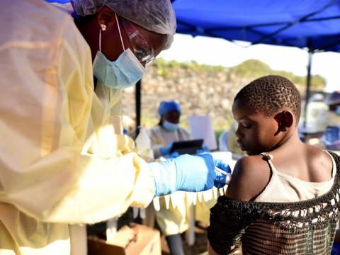 Researchers at the World Health Organization garnered a big win in the fight against Ebola in the Democratic Republic of Congo.