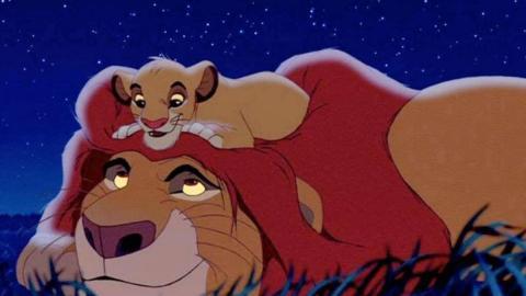 El rey leon - Mufasa y Simba
