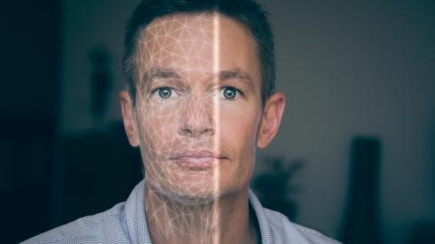 Robots humanoides, reconocimiento facial