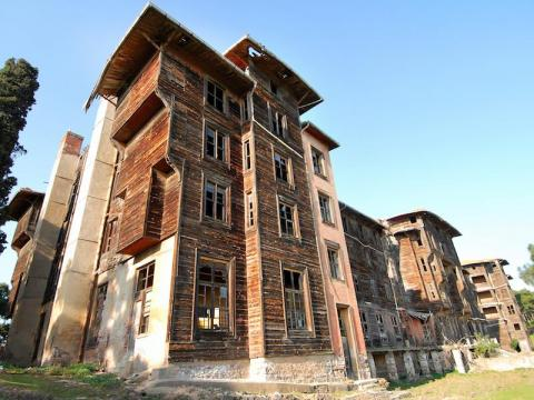 Despite being made of wood, Rum Orphanage in Turkey still stands today.