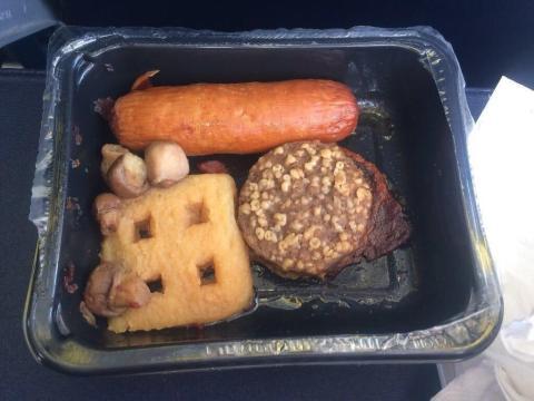 Ryanair: desayuno irlandés