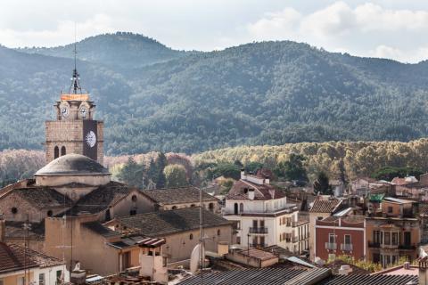 Santa Coloma de Farners, municipio de donde es la familia de Torra.