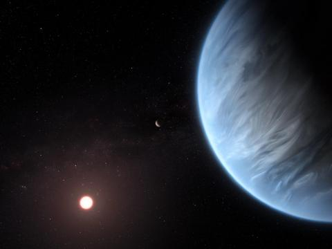 Scientists also discovered a planet outside our solar system that could be our best bet for finding alien life.