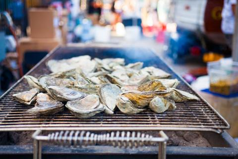 Undercooked shellfish is a serious problem.