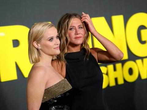 The show, whose cast also includes Reese Witherspoon and Steve Carell, debuted November 1.