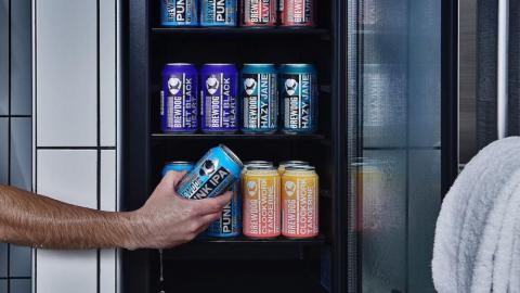 Shower beer, anyone?