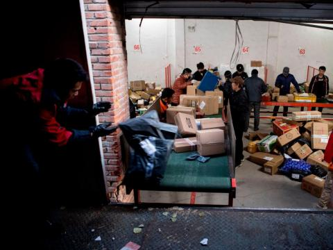 As Singles' Day came to an end, the growth of the shopping holiday was immediately apparent.
