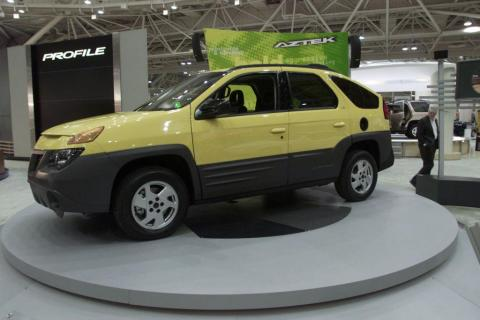 Sorry, but I see some Pontiac Aztek in the Cybertruck. The reviled proto-crossover perhaps deserves more respect than it usually gets.