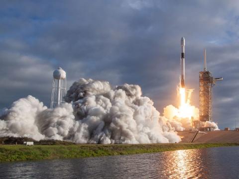SpaceX lanzamiento de cohete