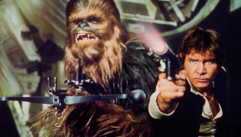 Star Wars - Chewbacca y Han Solo