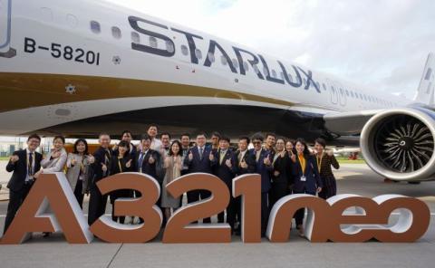 Starlux tendrá una flota integrada por A321neo y A350XWB.
