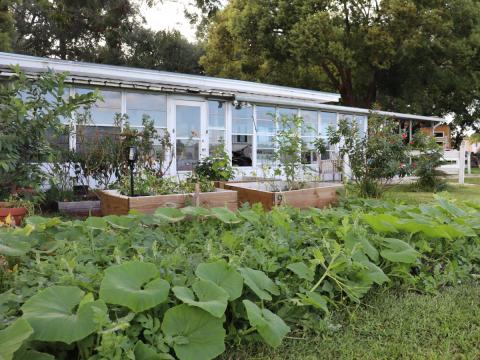 El jardín comunitario
