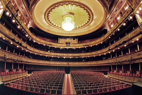 El Teatro de la Zarzuela de Madrid ha dependido históricamente del INAEM.