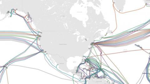 Miles de cables submarinos son la razón por la que puedes leer este artículo. Sirven para transmitir las redes de internet.