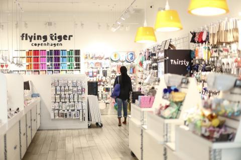 Tienda de Flying Tiger.