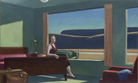 Western motel, el cuadro de Edward Cooper.