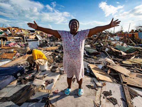When storms are slower, their forceful winds, heavy rain, and surging tides have much more time to cause destruction. In the Bahamas, Dorian leveled entire towns.