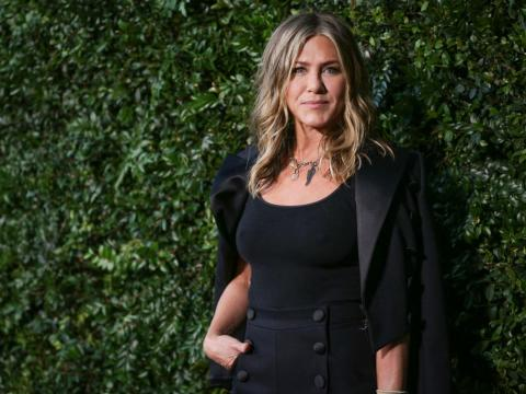 While Aniston invests heavily in self-care, she also gives back.